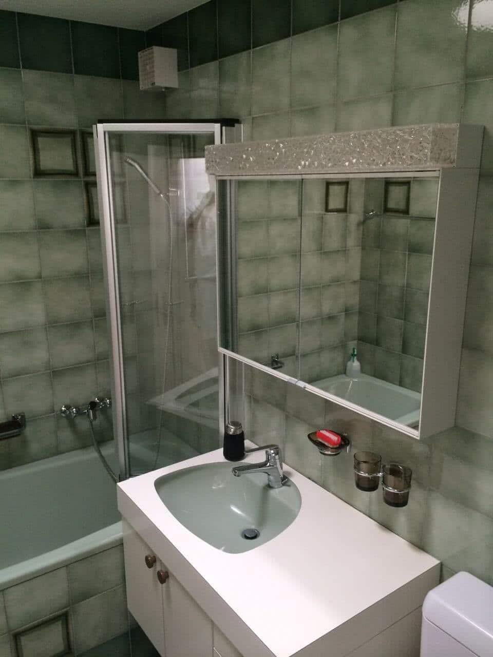 beton cir renovieren mit gewachstem beton w nde b den oder bad. Black Bedroom Furniture Sets. Home Design Ideas