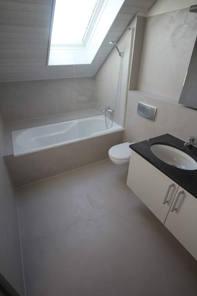 Beton Ciré (Gewachster Beton) ideal für Badezimmer