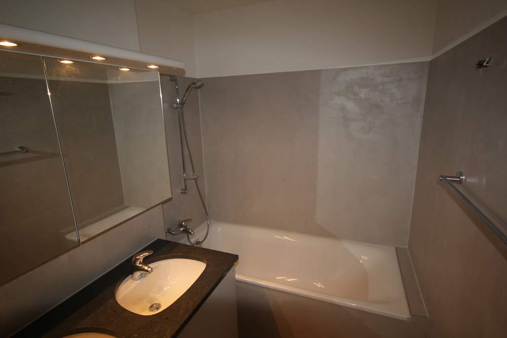 Beton Ciré (Gewachster Beton) Badezimmer renovieren