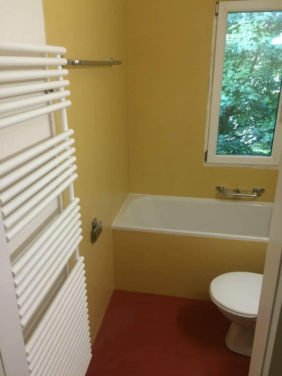 Beton Ciré farbig (Gewachster Beton) ideal für Bad
