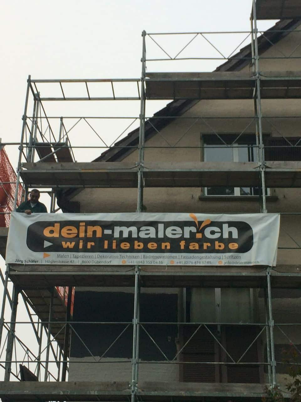 Fassadensanierung von Dein Maler Zürich 4