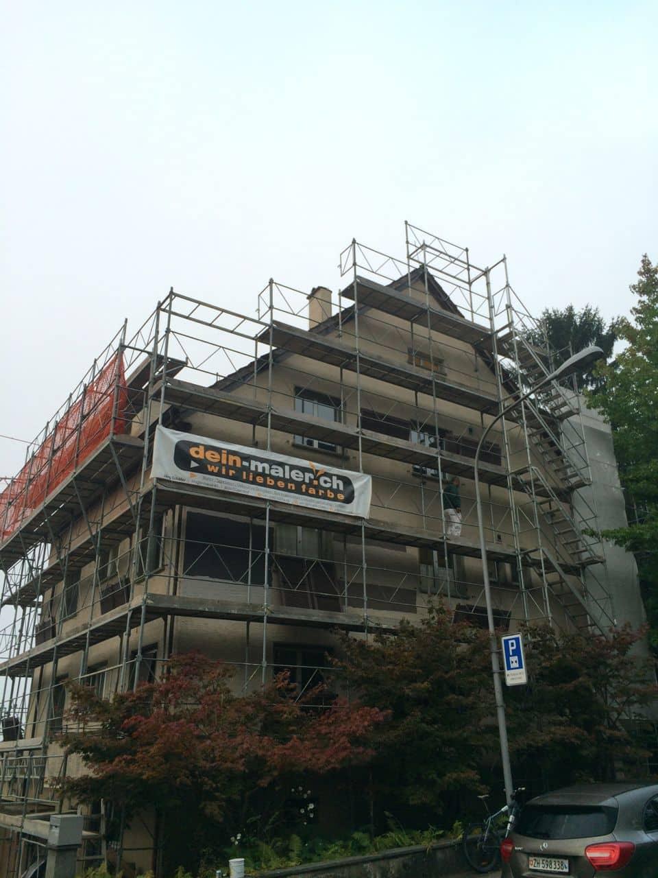 Fassadensanierung von Dein Maler Zürich 6