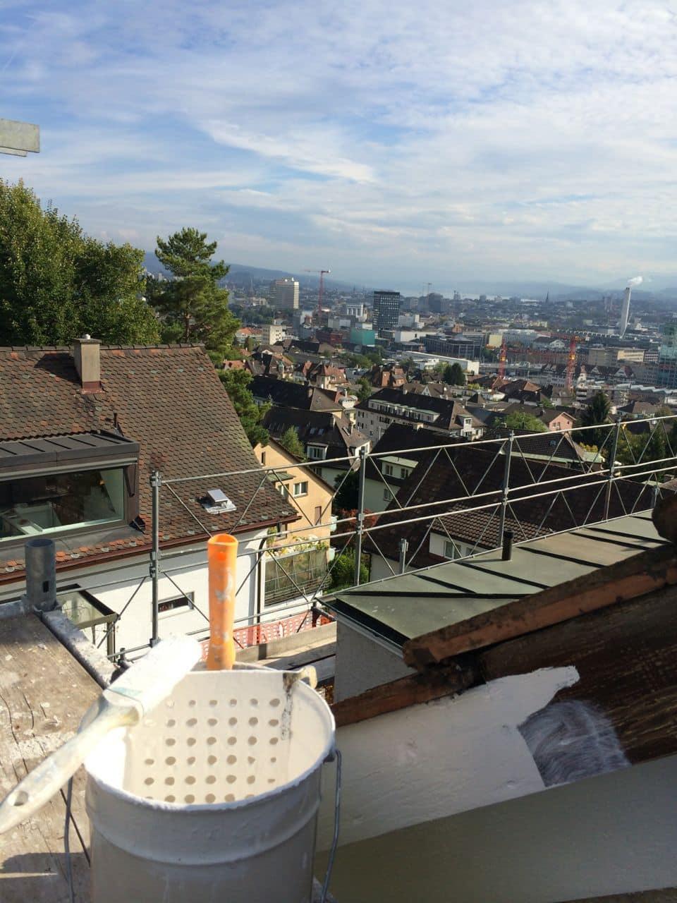 Fassadenrenovation von Dein Maler Zürich
