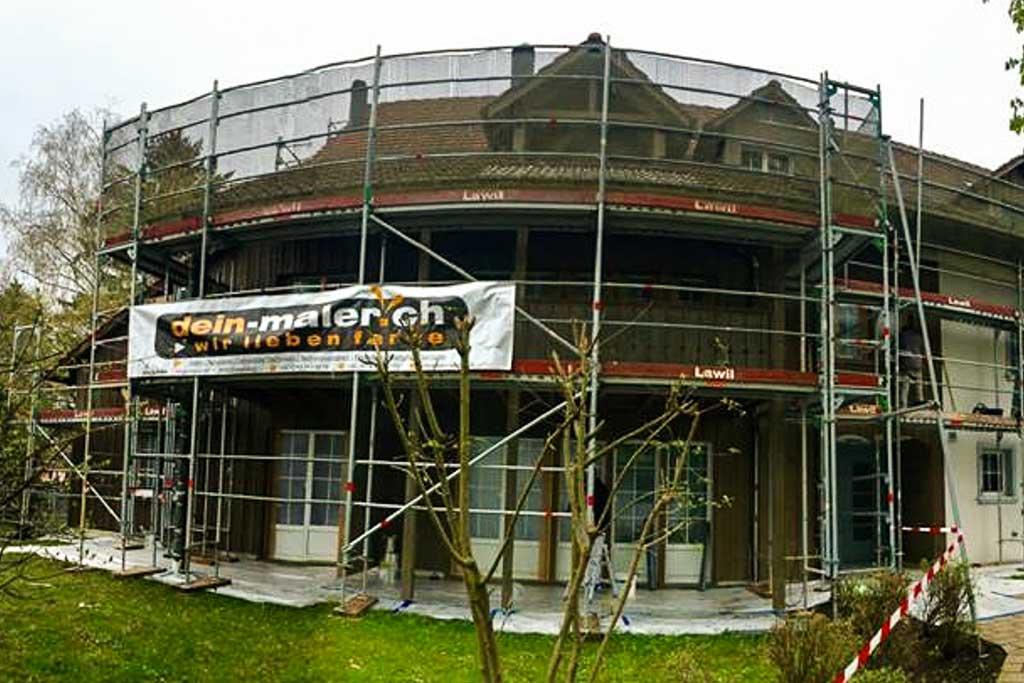 Maler Arbeiten aller Art: Fassade renovieren