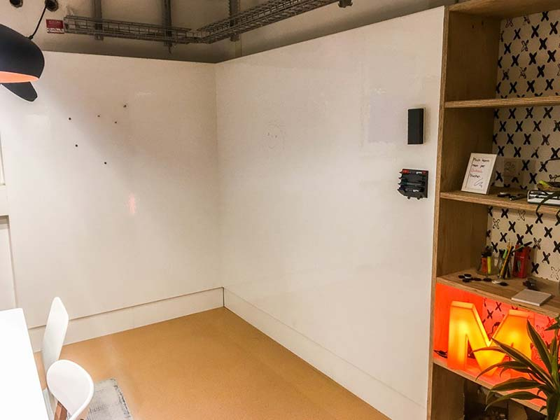Magnetische Whiteboard Beschichtung: Büro