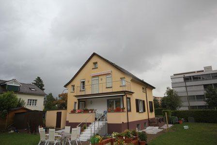 Haus renovieren alt 2 - Malerarbeiten Zürich