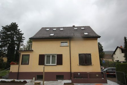 Haus renovieren alt - Malerarbeiten Zürich