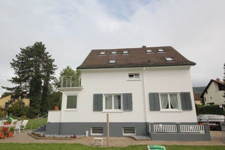 Haus renovieren neu - Malerarbeiten Zürich