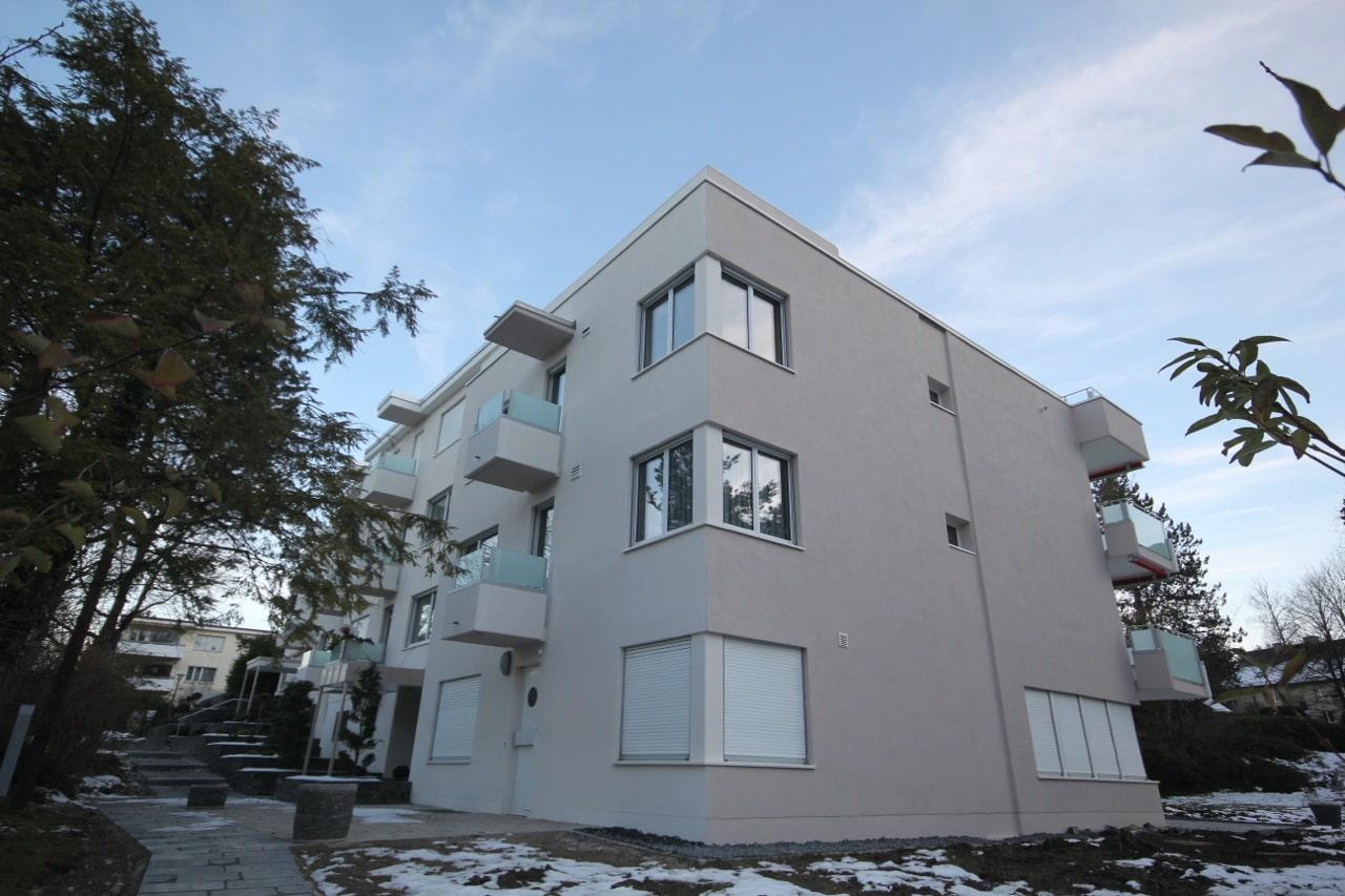 Fassadenrenovation: Haus streichen mit Dein Maler Zürich