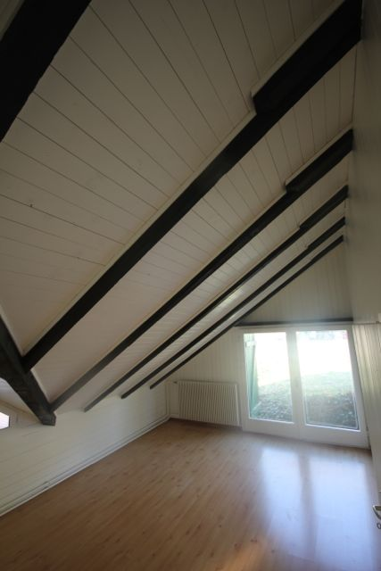 dein-Maler: Dachgebälk spritzen