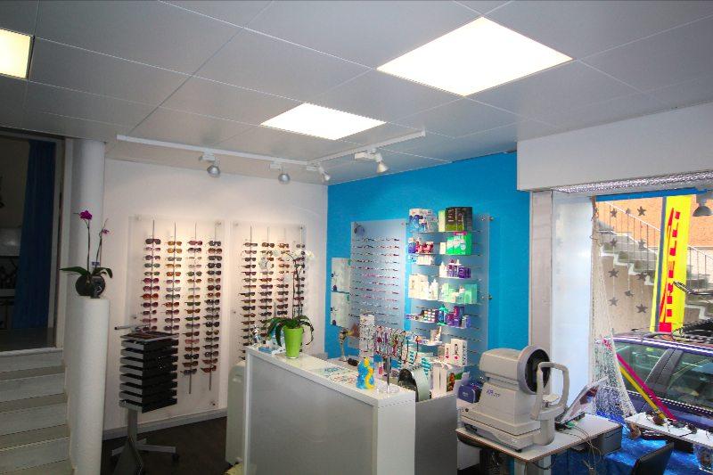 Maler- und Tepezierarbeiten Dein Maler Zürich Brillengeschäft