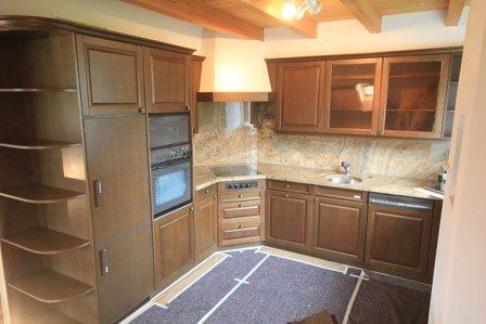 Küche renovieren: Fronten spritzen und lackieren 4 alt