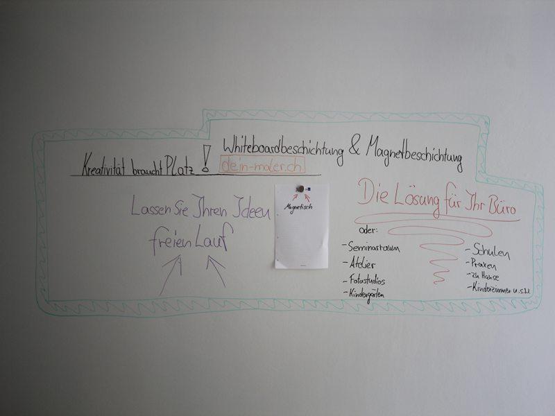 Magnetische Whiteboard Beschichtung: die flexible Lösung für Ihr Büro