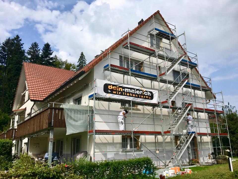 Referenz Dein Maler: Fassaden renovieren