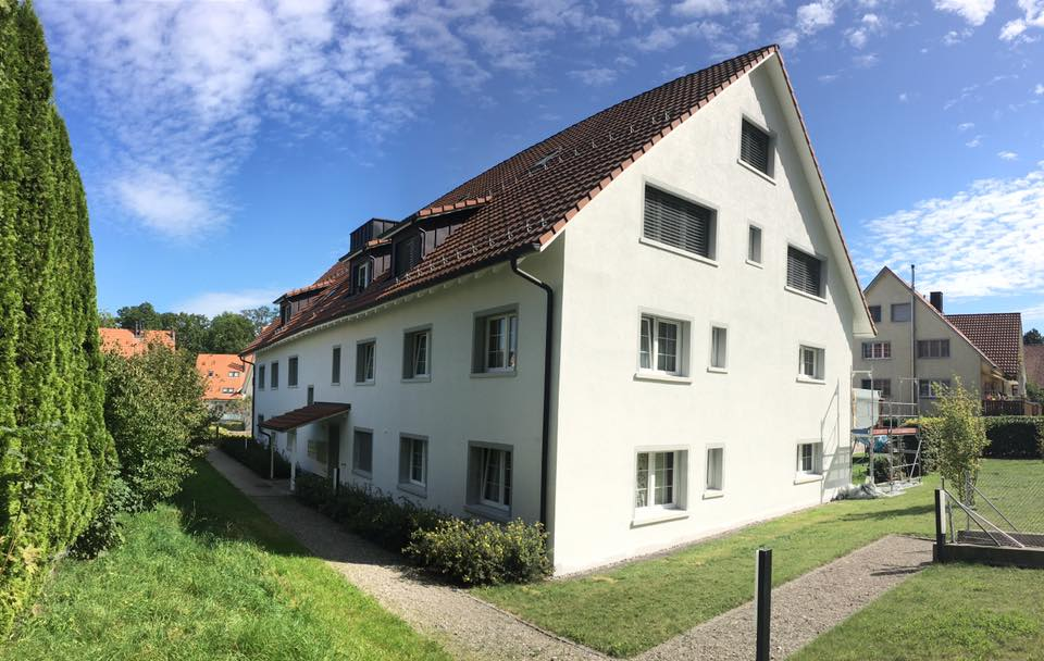 Haus renovieren von Mehrfamilienhaus Zürich