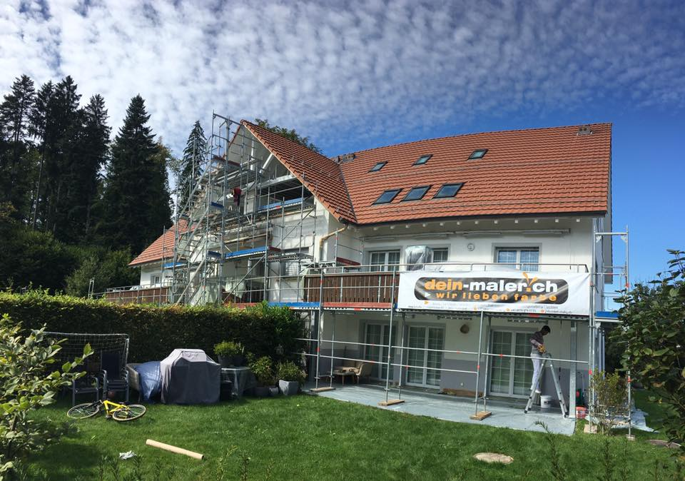 Referenz Dein Maler: Fassadenrenovation MFH Schweiz