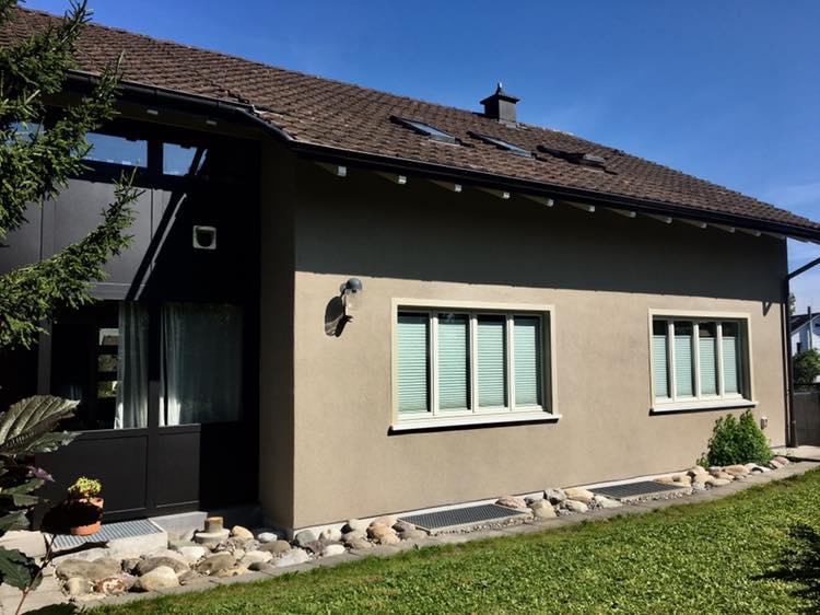 Referenz Dein Maler: Fassadenrenovation Nänikon Kanton Zürich