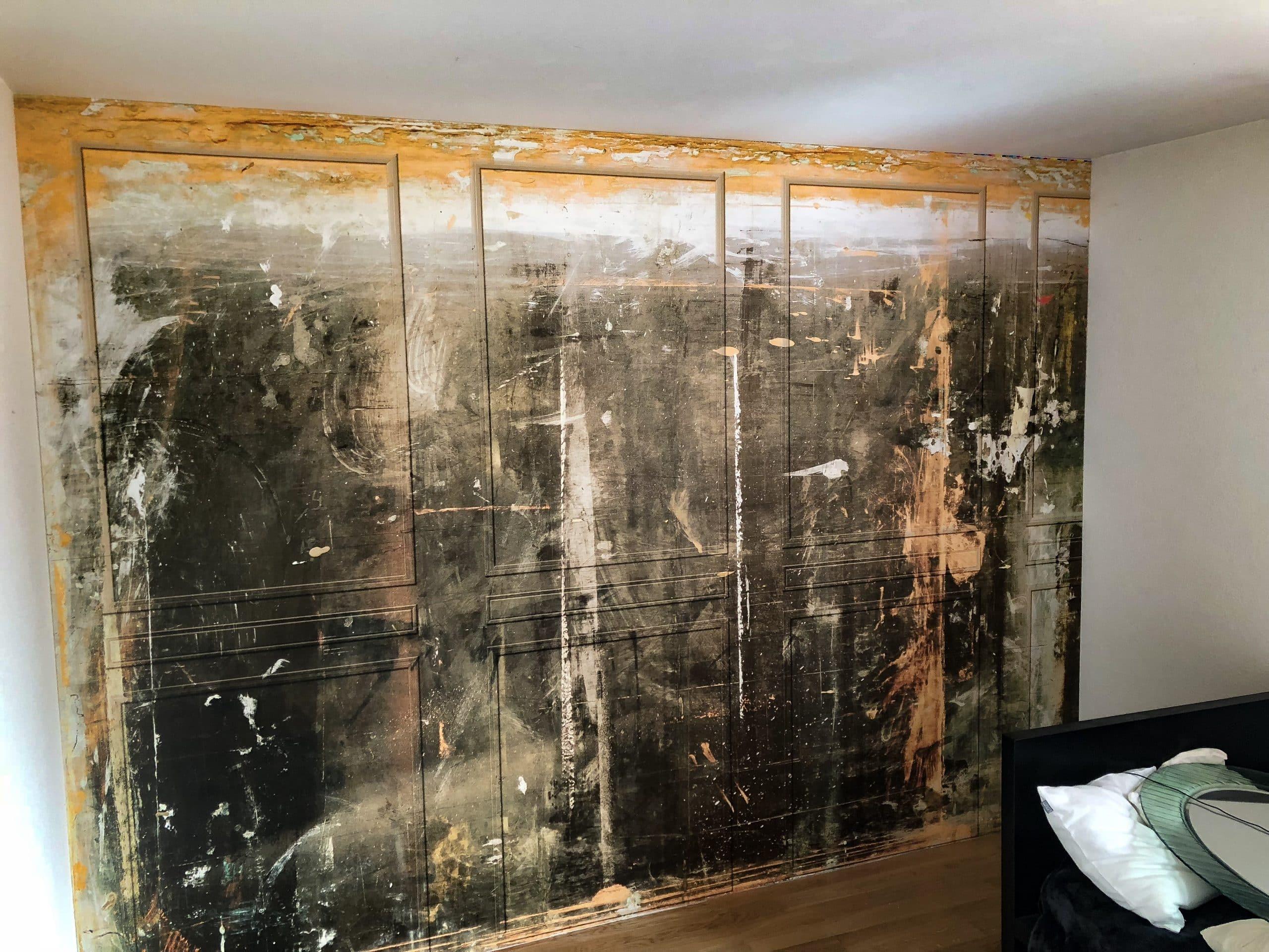 dein Maler Zürich: Wand tapezieren