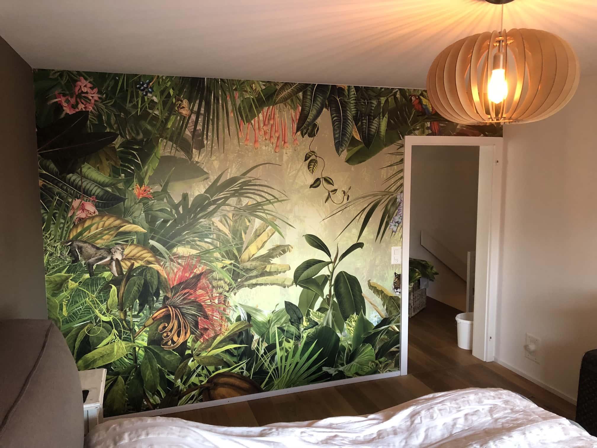 Fototapete Schlafzimmer tapezieren