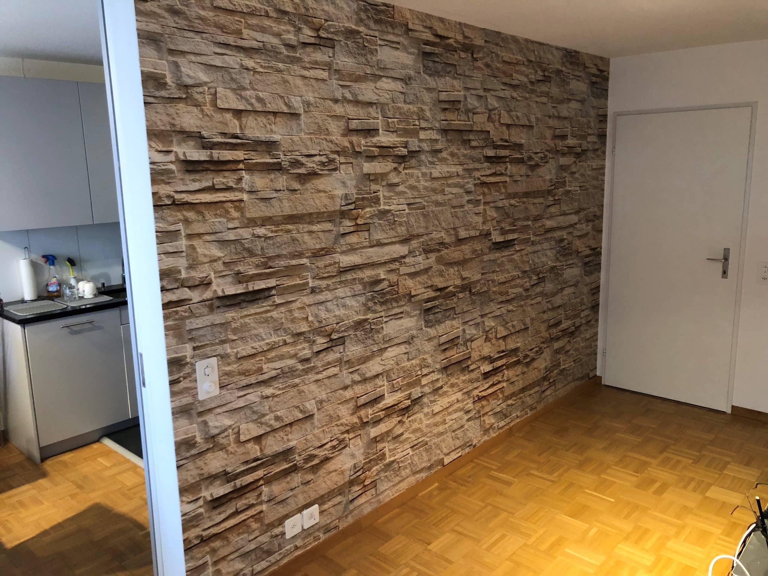 Wand tapezieren - dein Maler Zuerich