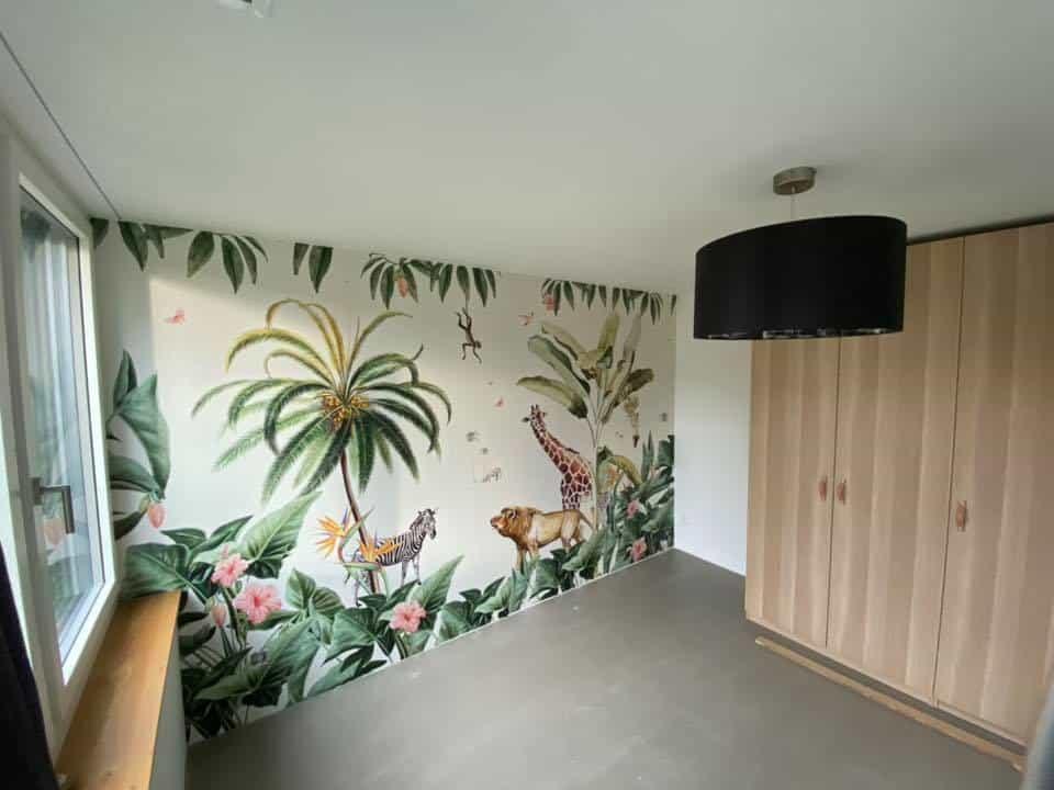 Fototapete im Kinderzimmer - Dschungel