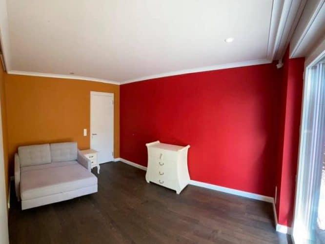 Mut zur Farbe. Farbige Wand - Dein Maler Zürich