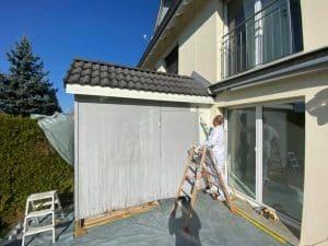 Maler & Verputzarbeiten in einem EFH: Aussen