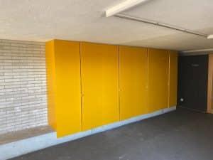 Maler- und Lackierarbeiten - Schule Stadelhofen ZH - nachher