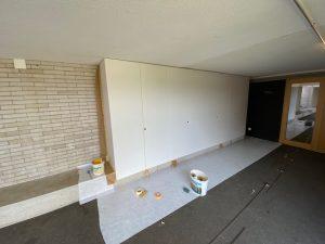 Maler- und Lackierarbeiten - Schule Stadelhofen ZH vorher